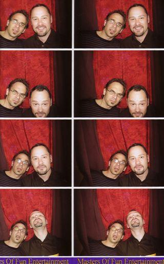 Tim and Glenn Photo booth
