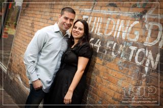 South Street Seaport engagement session